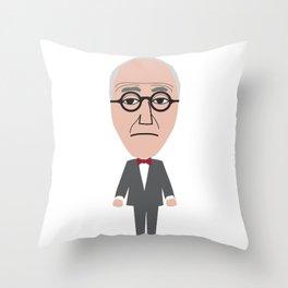 Corbu Throw Pillow