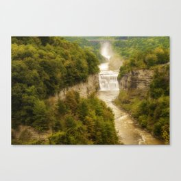 Tranquil World Canvas Print