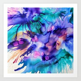 Colors 51 Art Print