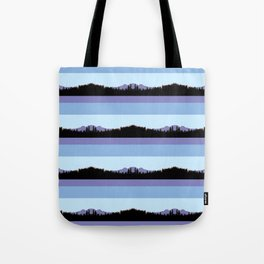 Abstract mountains horizons 2 Tote Bag