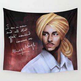 Shaheed Bhagat Singh Wall Tapestry