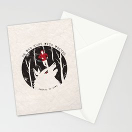 Sterek: He Who Runs With Wolves Stationery Cards