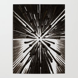Bamboo Geometry Poster