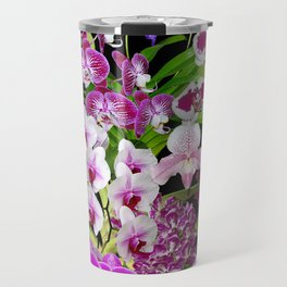 Orchids - Cool colors! Travel Mug