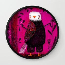 STANDING EAGLE Wall Clock