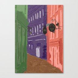 Whitby Colours Canvas Print