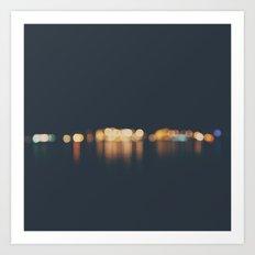 lights ... Art Print