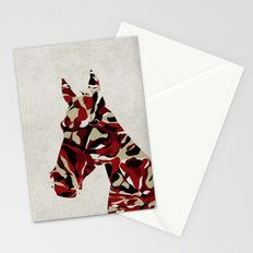 Camouflage Horse Stationery Cards