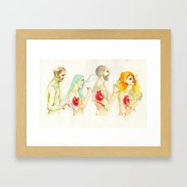 Why don't you love me? Framed Art Print