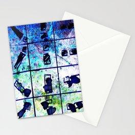 object matchsticks Stationery Cards