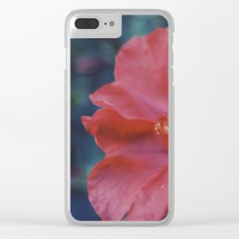 Evening flowers Clear iPhone Case