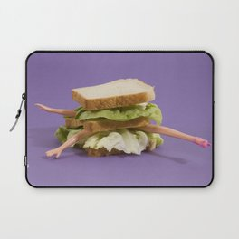 Ultraviolet Sandwich Doll Laptop Sleeve