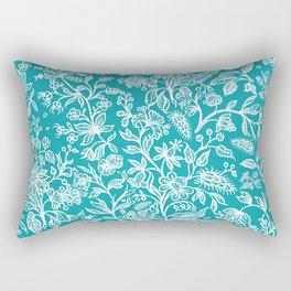 Decorative flowers 29 Rectangular Pillow