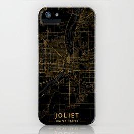 Joliet, United States - Gold iPhone Case