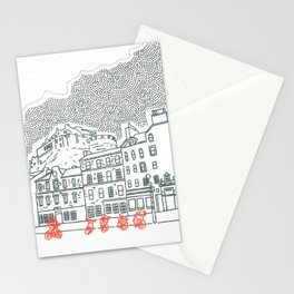 Castle and Clouds Stationery Cards