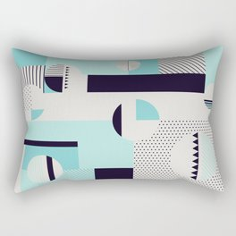 Picnic on the beach Rectangular Pillow