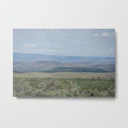 The Velvety Hills of Central Oregon Metal Print