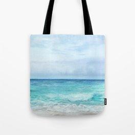 Peaceful Ocean Tote Bag