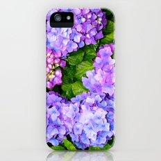 Hydrangea Slim Case iPhone (5, 5s)