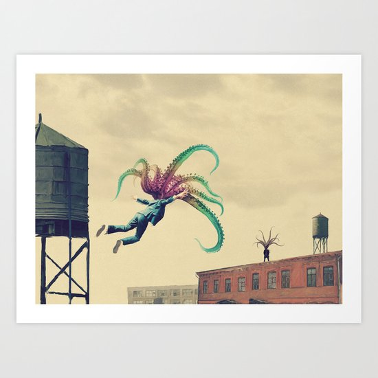 Welcome home son Art Print