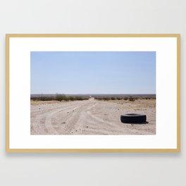 Less Traveled Framed Art Print