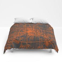 Houston map Comforters