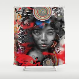 HAITI Shower Curtain