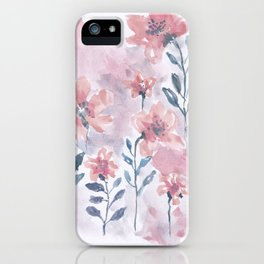 Watercolor Floral #1 iPhone Case