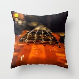 Bass Of Ace Throw Pillow
