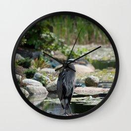 lagoon landing Wall Clock