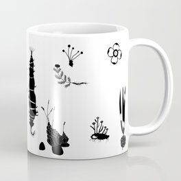 Abundance in Black Coffee Mug