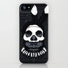 Witch Doctor - Dark Skin iPhone Case
