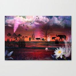 Prideof the Safari Canvas Print