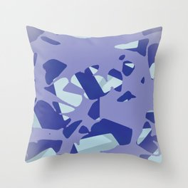 Splattering Throw Pillow