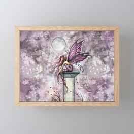 The Lookout Fairy Fantasy Art by Molly Harrison Framed Mini Art Print