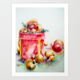 New Year Gifts Art Print