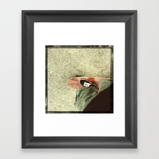 the way home Framed Art Print