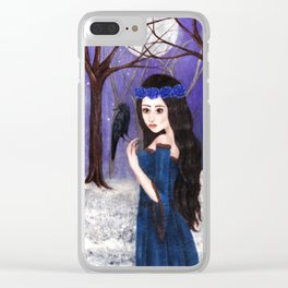 The wolf maid Clear iPhone Case