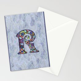 The Letter R Stationery Cards