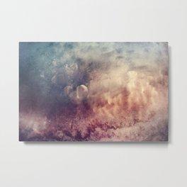 Coffee Texture Metal Print