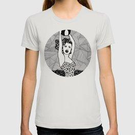 Roy Lichtenstein - Girl with ball T-shirt