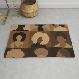 FOR BROWN GIRLS COLLECTION COLLAGE Rug