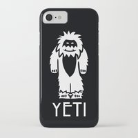 yeti iPhone & iPod Cases featuring Yeti by French Press Mornings