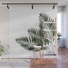 Tropical Exotic Palm Leaves I Wall Mural