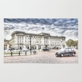 Buckingham Palace Snow Rug
