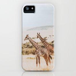 African Safari II iPhone Case