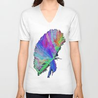 law V-neck T-shirts featuring 2nd Law by Progressive T Shirts
