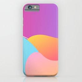 Gradient Dunes iPhone Case