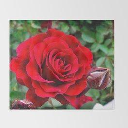 Rose revolution Throw Blanket