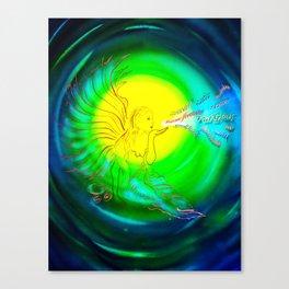 Lucky Angels- Good Luck Canvas Print